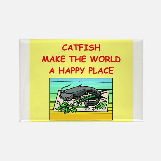 catfish Rectangle Magnet