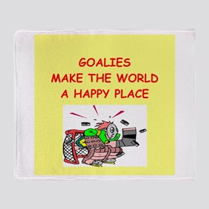 goalies Throw Blanket