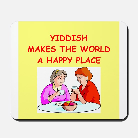 yiddish Mousepad