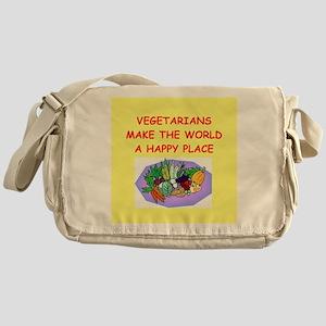 vegetarians Messenger Bag