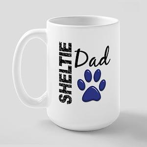 Sheltie Dad 2 Large Mug
