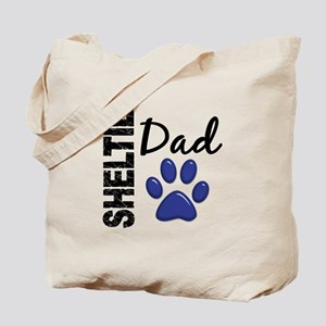 Sheltie Dad 2 Tote Bag