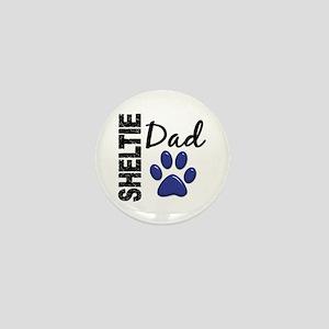 Sheltie Dad 2 Mini Button