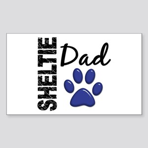 Sheltie Dad 2 Sticker (Rectangle)