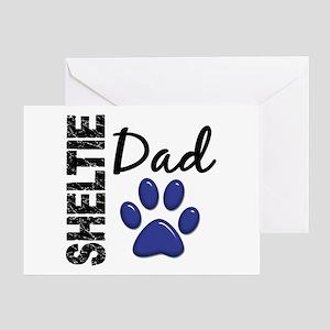 Sheltie Dad 2 Greeting Card