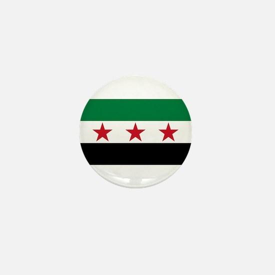 pre-1963 Flag of Syria Mini Button