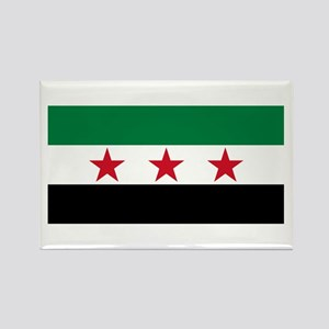 pre-1963 Flag of Syria Rectangle Magnet