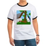 Vegetarian Whales (no text) Ringer T