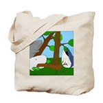 Vegetarian Whales (no text) Tote Bag