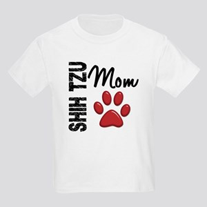 Shih Tzu Mom 2 Kids Light T-Shirt