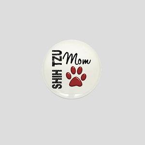 Shih Tzu Mom 2 Mini Button