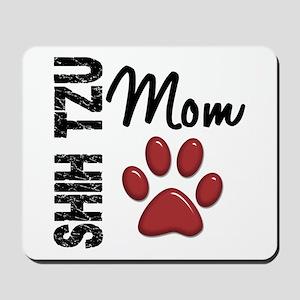 Shih Tzu Mom 2 Mousepad