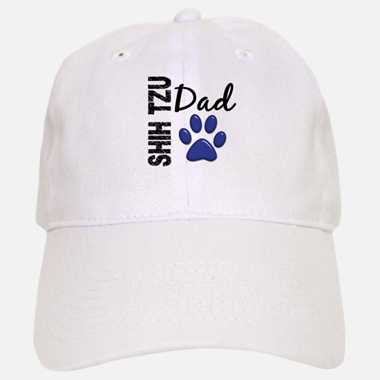 Shih Tzu Dad 2 Baseball Baseball Cap