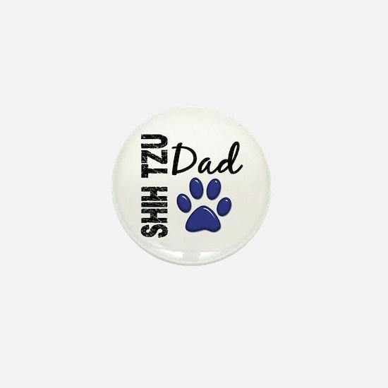 Shih Tzu Dad 2 Mini Button