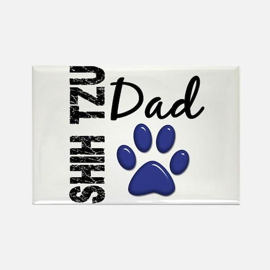 Shih Tzu Dad 2 Rectangle Magnet
