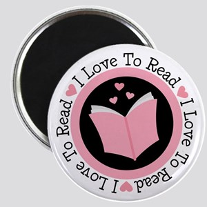 I Love To Read Books Magnet