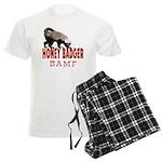 Honey Badger BAMF Men's Light Pajamas