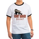 Honey Badger BAMF Ringer T