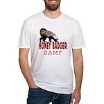 Honey Badger BAMF Fitted T-Shirt
