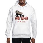 Honey Badger BAMF Hooded Sweatshirt