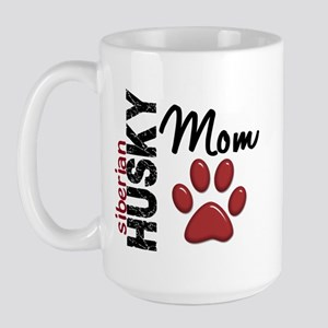 Siberian Husky Mom 2 Large Mug