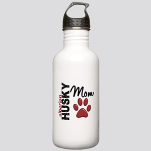 Siberian Husky Mom 2 Stainless Water Bottle 1.0L