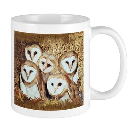 owls for blanket2 Mugs