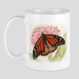 Monarch Butterfly and Caterpillar Mug
