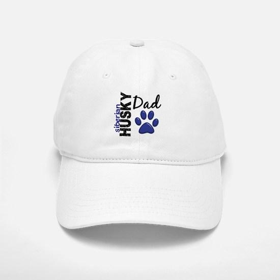 Siberian Husky Dad 2 Baseball Baseball Cap