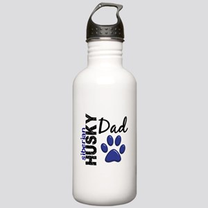Siberian Husky Dad 2 Stainless Water Bottle 1.0L