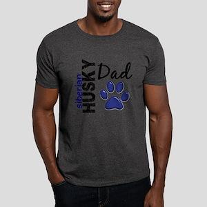 Siberian Husky Dad 2 Dark T-Shirt