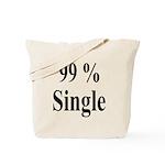 99% Single Tote Bag