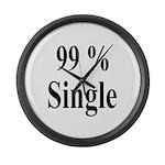99% Single Large Wall Clock
