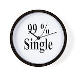 99% Single Wall Clock