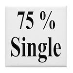 75% Single Tile Coaster