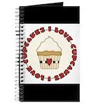 I Love Cupcakes Journal