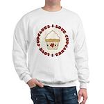 I Love Cupcakes Sweatshirt