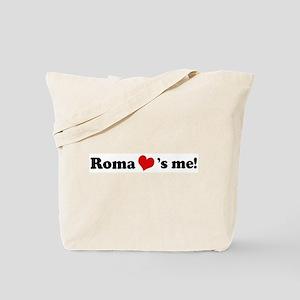 Roma loves me Tote Bag
