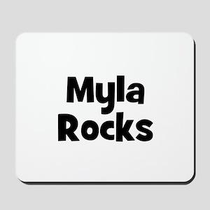 Myla Rocks Mousepad