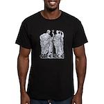 Poseidon/Kerkyra Men's Fitted T-Shirt (dark)