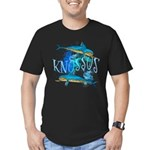 Knossos Men's Fitted T-Shirt (dark)