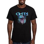 Crete Men's Fitted T-Shirt (dark)