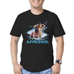 Mykonos Men's Fitted T-Shirt (dark)