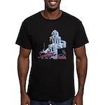 Santorini Men's Fitted T-Shirt (dark)