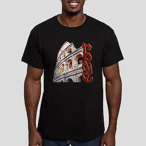 Coliseum Men's Fitted T-Shirt (dark)