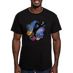 Breakdancer Men's Fitted T-Shirt (dark)