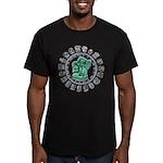 Mayan Calendar Men's Fitted T-Shirt (dark)