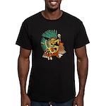Quetzalcoatl Men's Fitted T-Shirt (dark)