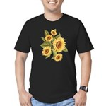Sunflower Men's Fitted T-Shirt (dark)
