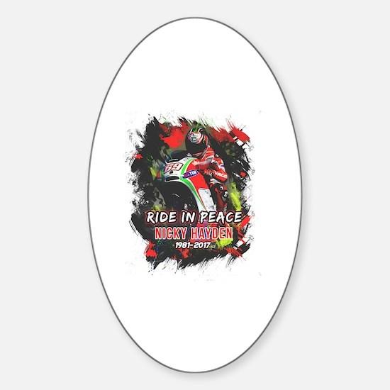 Unique Maverick Sticker (Oval)